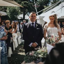 Matrimonio nella location parco archea